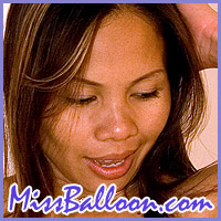 Miss Balloon .com naked asian babe with balloons